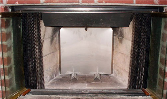 Protect the lifespan of your fireplace and make your home warmer with a fireback from Clean Sweep Chimney. Servicing all of St. Louis and St. Charles MO!